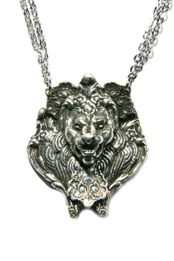 Lion Spoon Necklace, $59 | Light Years Jewelry