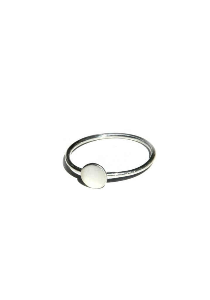 Little Round Ring, $9 | Sterling Silver 5,6,7 | Light Years Jewelry