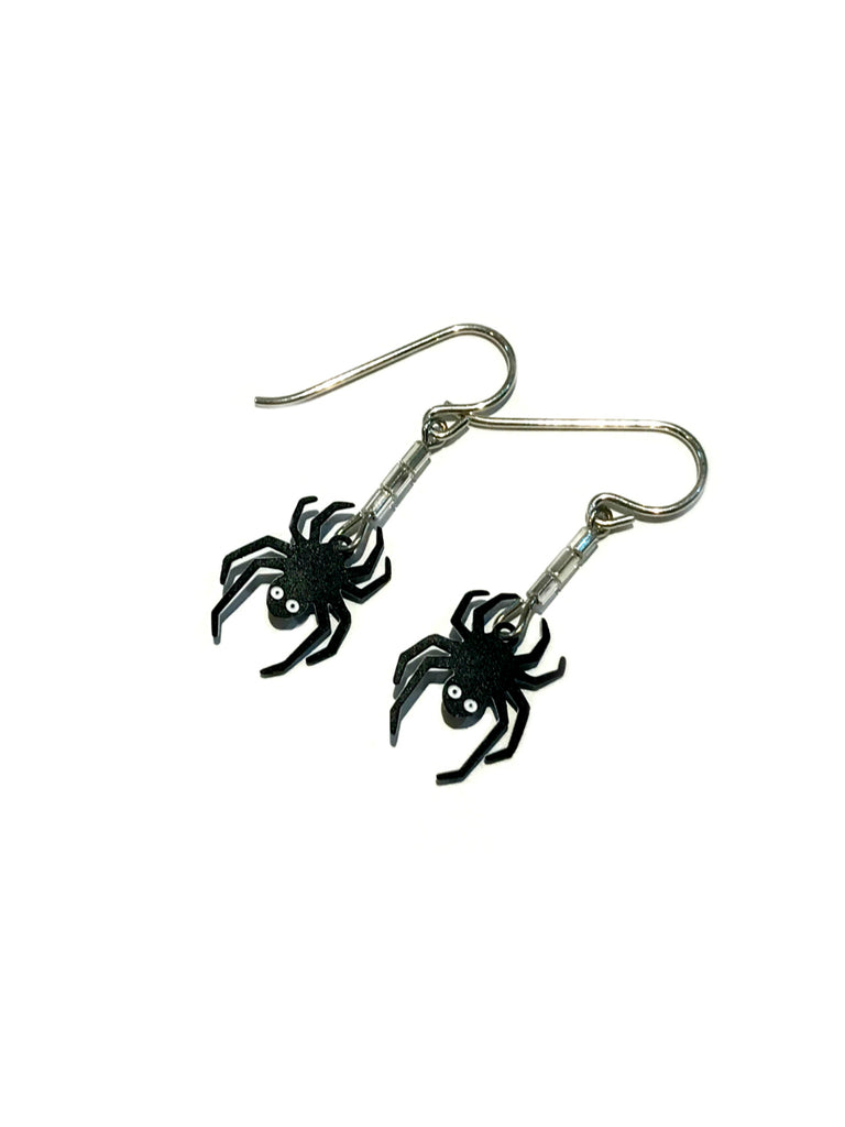 Spider Silk Dangles Sienna Sky | Sterling Silver Earrings | Light Years