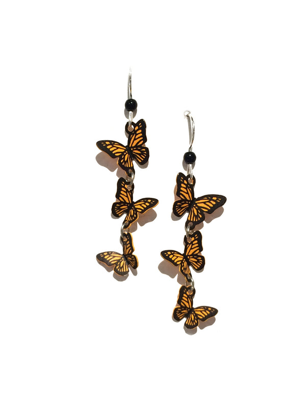 Triple Monarch Dangles by Sienna Sky | Sterling Silver | Light Years