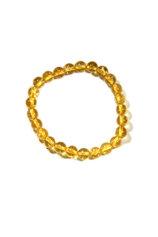 Beaded Citrine Bracelet, $12 | Fits Most Wrists | Light Years Jewelry