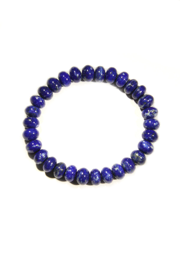 Beaded Lapis Lazuli Bracelet, $24 | Light Years Jewelry