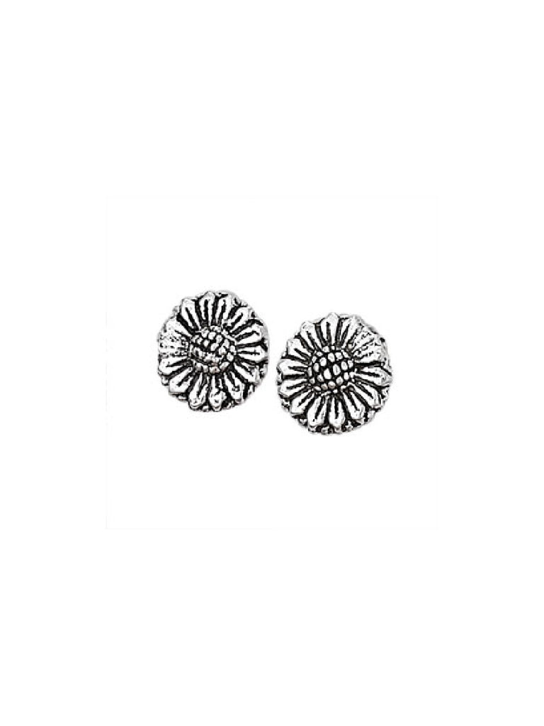 Sunflower Posts | Sterling Silver Studs Earrings | Light Years Jewelry