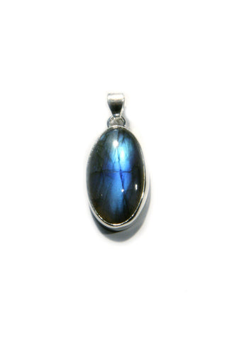 Oval Labradorite Pendant, $24 | Sterling Silver | Light Years Jewelry