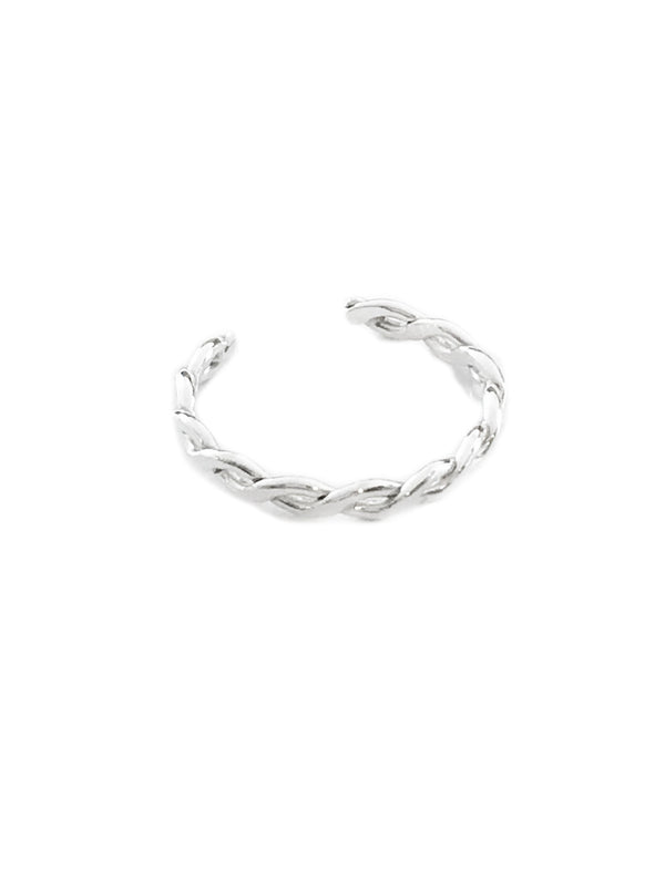 Braided Band Toe Ring | 14kt Gold Filled Sterling Silver | Light Years