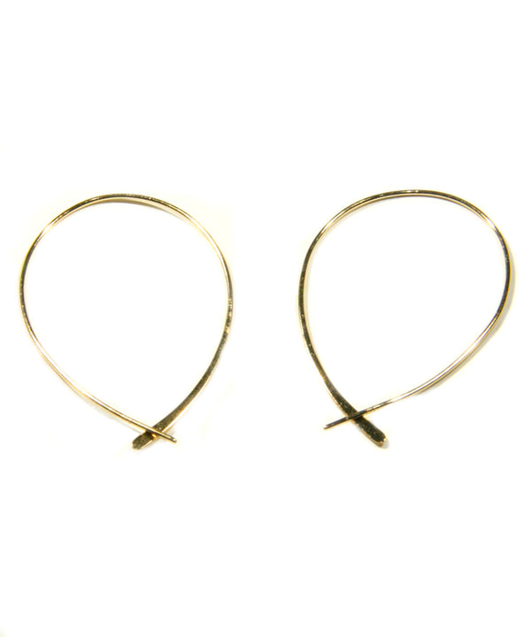 Sterling Silver or Vermeil Flat Loop Thread, $16 | Light Years Jewelry