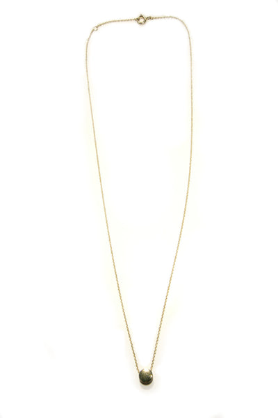 Gold Dot Necklace, $18 | Vermeil | Light Years Jewelry