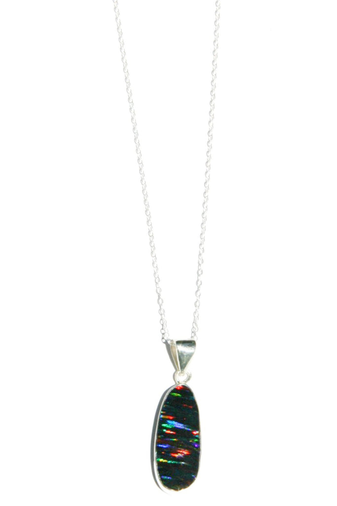 Radiant Opal Necklace, $34 | Sterling Silver | Light Years Jewelry