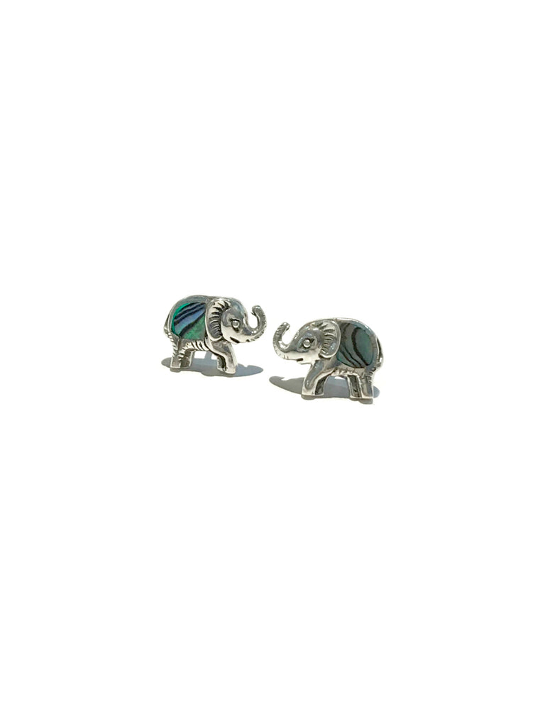 Abalone Animal Posts | Sterling Silver Studs Earrings Bali | Light Years