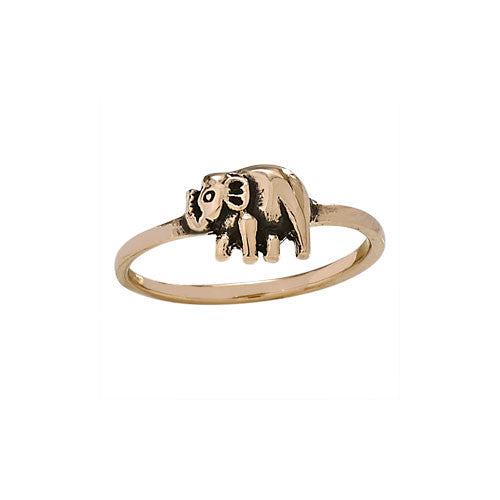 Bronze Elephant Ring, $14 | Light Years Jewelry