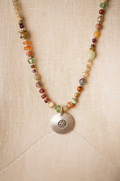 Gentle Breeze Gemstone Beaded Necklace, $116 | Light Years
