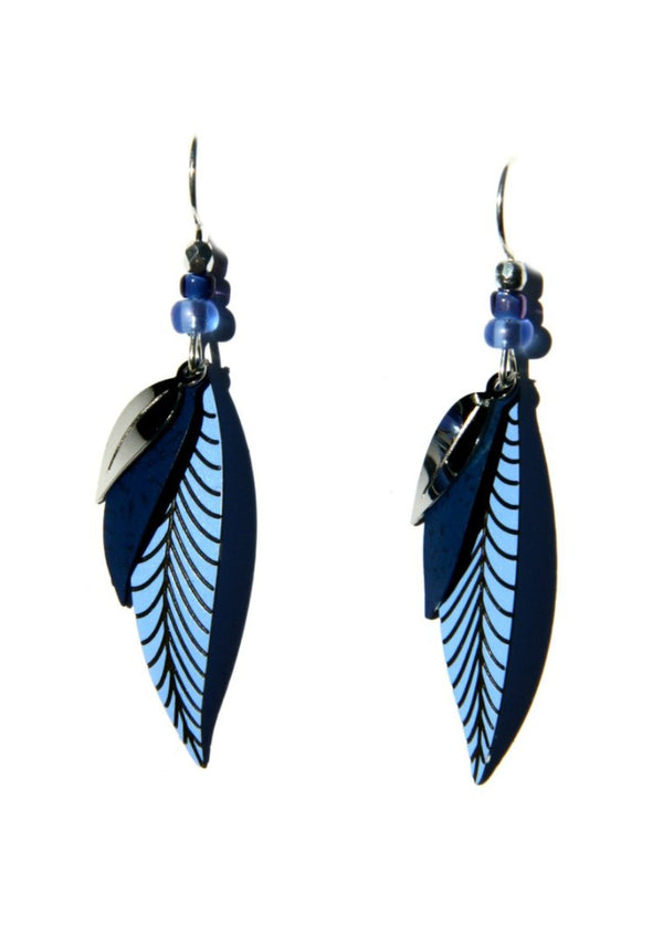 Long Leaf Dangles by Sienna Sky, $20 | Sterling Silver | Light Years