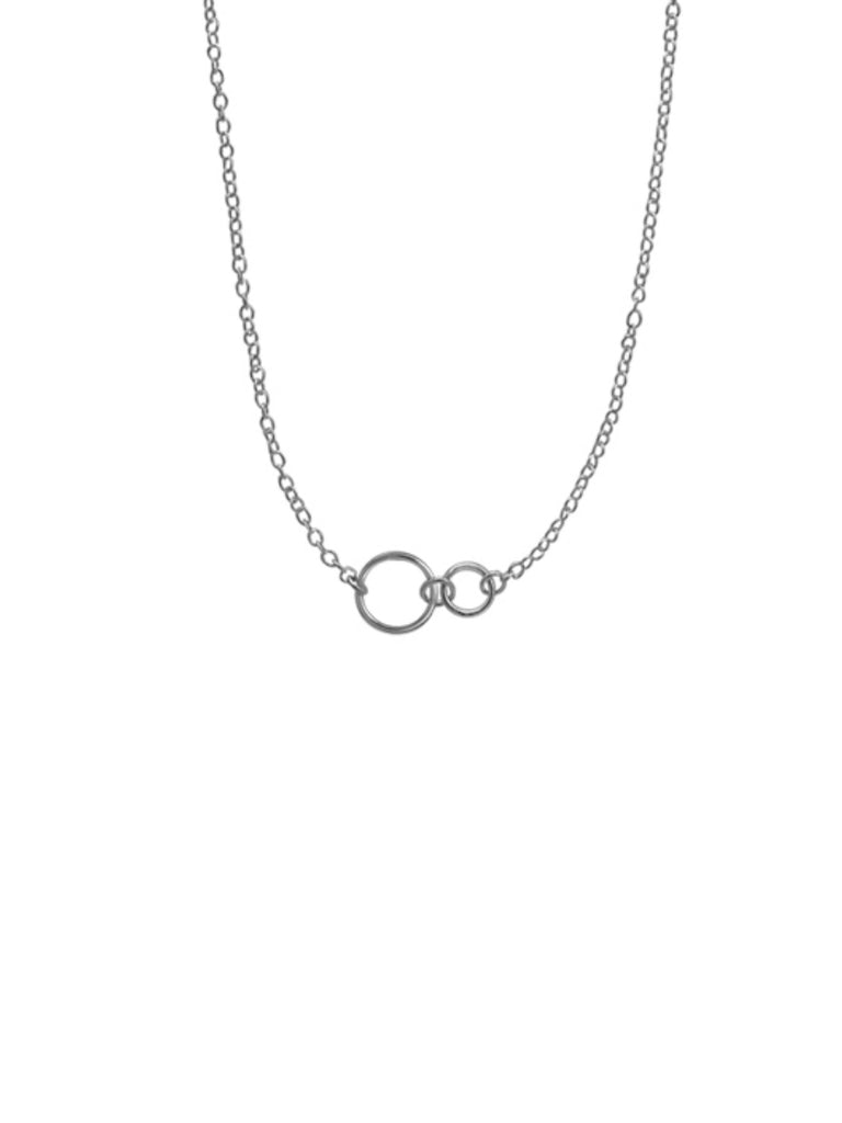 Small Linked Circles Necklace
