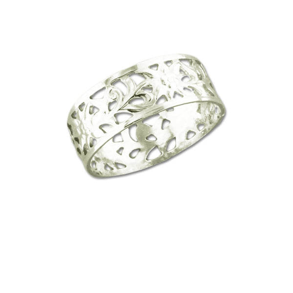 Floral Cutout Ring