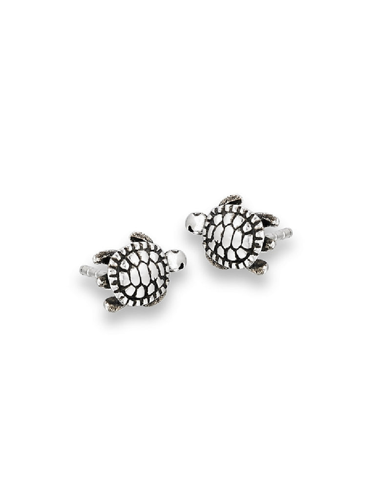 Turtle Posts | Sterling Silver Stud Earrings | Light Years Jewelry
