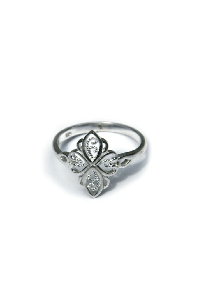Filigree Marquis Ring | Sterling Silver Size 6-9 | Light Years Jewelry