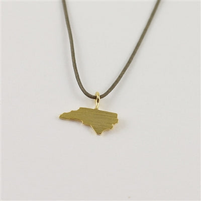 North Carolina Cord Necklace