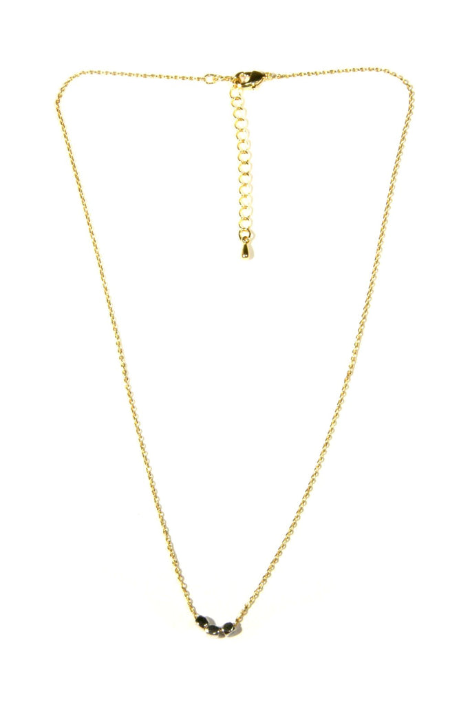 Mini Nugget Necklace, $22 | Gold and Silver | Light years Jewelry