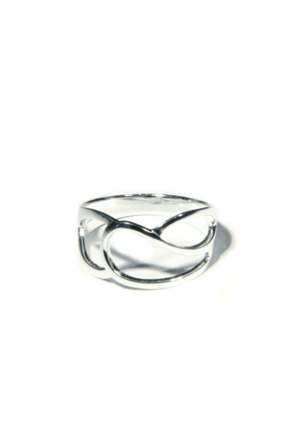 Crossing Loops Ring, $15 | Sterling Silver | Light Years Jewelry