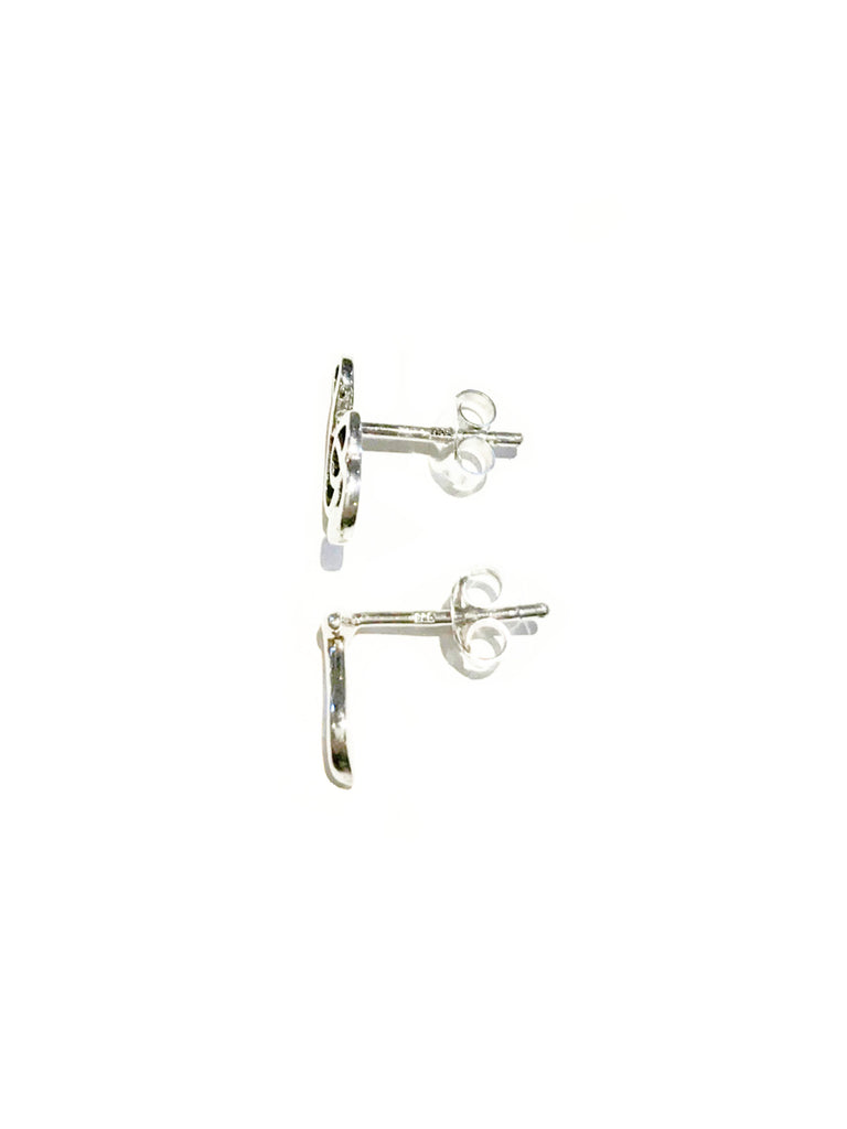 Music Note Posts | Sterling Silver Studs Earrings | Light Years Jewelry