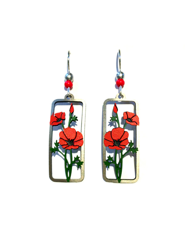 Poppy Dangles by Sienna Sky | Sterling Silver Earrings | Light Years