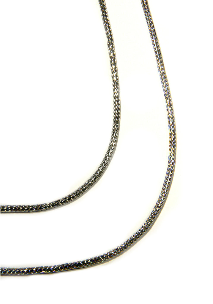 Handmade Herringbone Chain, $32-40 | Sterling Silver | Light Years