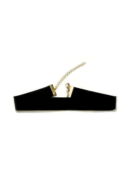 Black Suede Fashion Choker, $7 | Light Years Jewelry