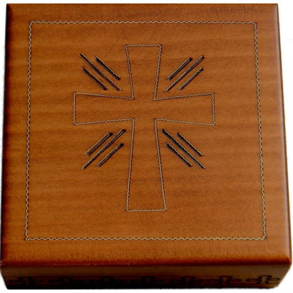 Cross Wood Box, $14 | Handmade Polish Box | Light Years Jewelry