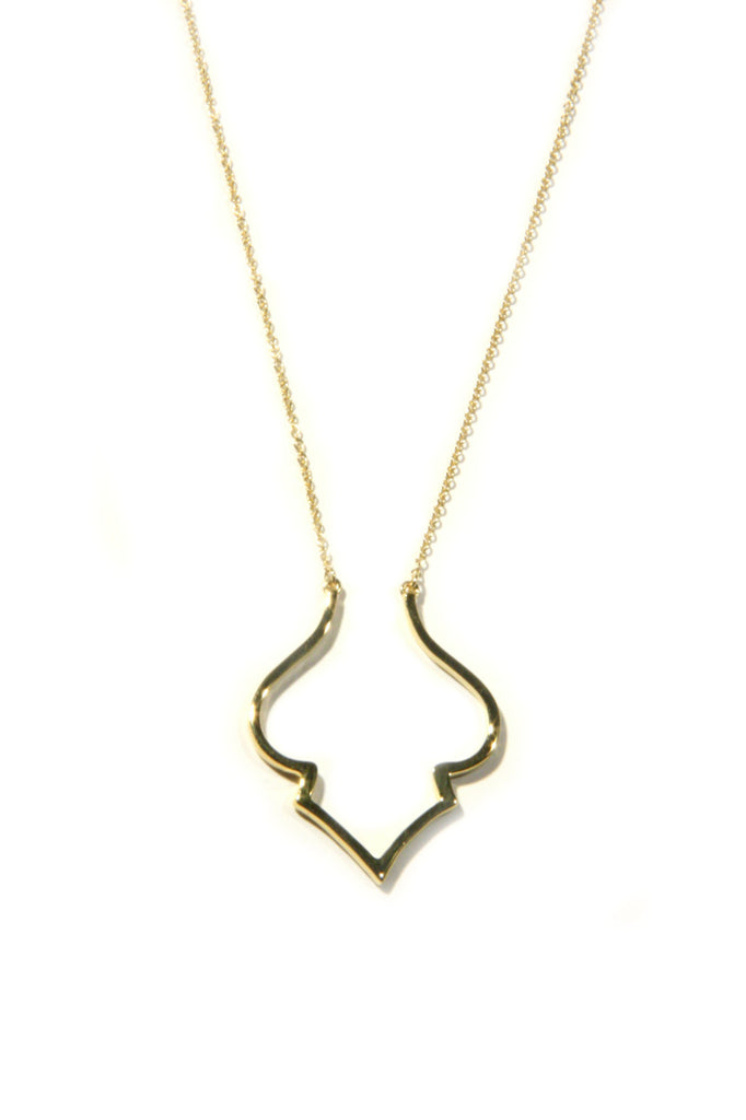 Arabesque Necklace, $22 | Sterling Silver, Gold Vermeil | Light Years