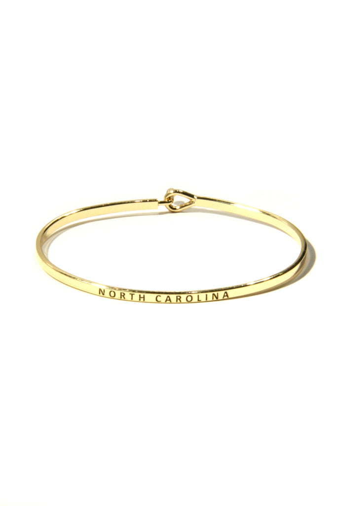 """North Carolina"" Cuff Bracelet 
