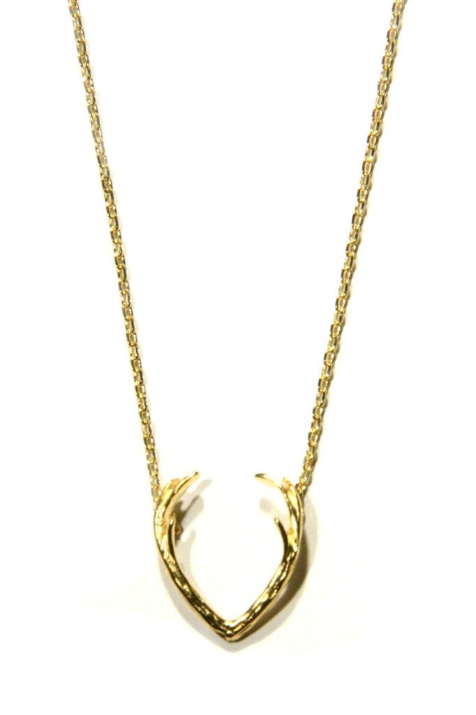 Antlers Necklace, $10 | Choice of Gold or Silver | Light Years Jewelry