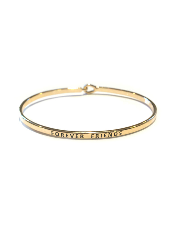 """Forever Friends"" Cuff Bracelet 