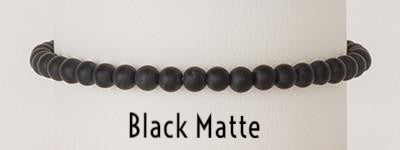 Black Matte | Power Mini Bracelets