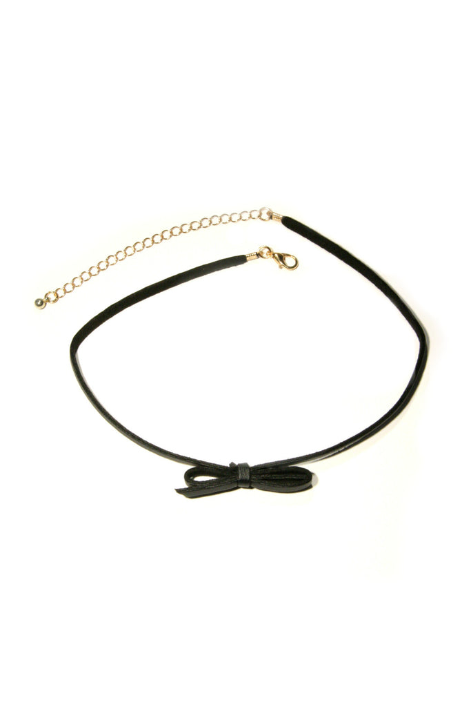 Black Bow Choker