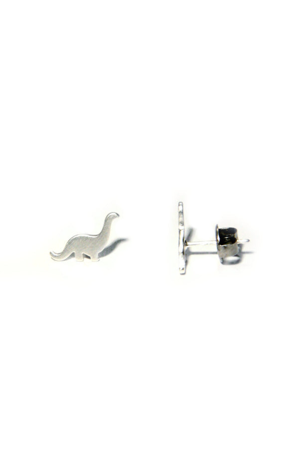Dinosaur Posts, $11 | Sterling Silver Stud Earrings | Light Years Jewelry