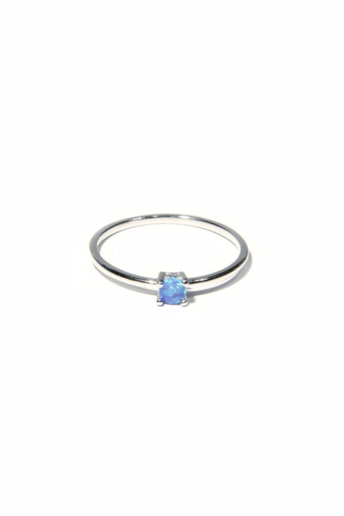 Simple Opal Ring, $14 | Sterling Silver | Light Years Jewelry