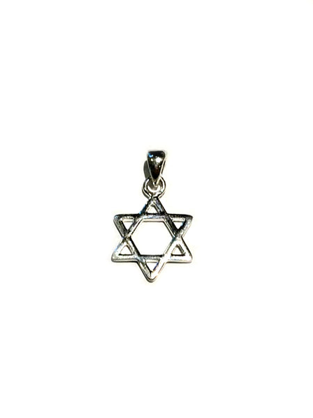Star of David Pendant | Sterling Silver | Light Years Jewelry