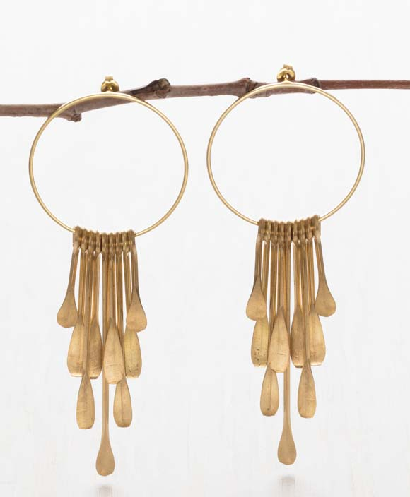 Coventina Post Earrings | Gold Plated Statement Studs | Light Years