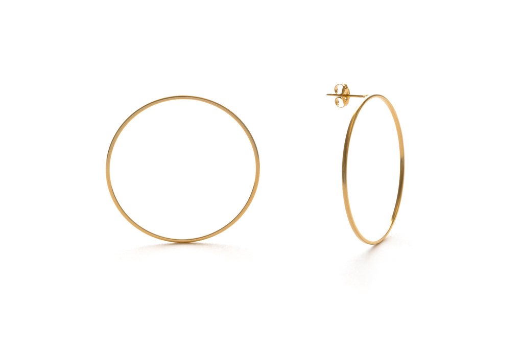 Stella Post Earrings, $22 | Gold Plated Posts | Light Years Jewelry