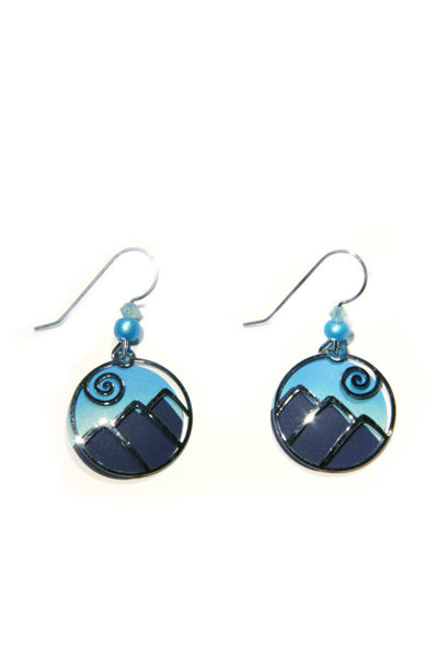 Blue Mountain Range Dangles by Sienna Sky, $19 | Light Years Jewelry