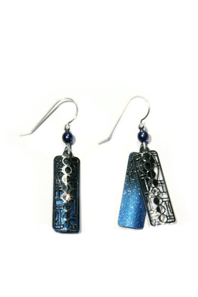 Moon Phase Dangles by Sienna Sky, $19 | Light Years Jewelry