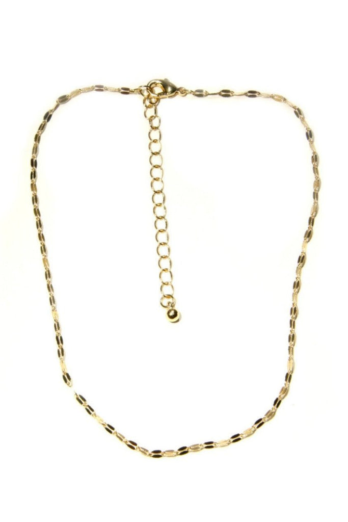 Dainty Fashion Gold Chain Choker, $7 | Light Years Jewelry