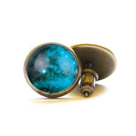 Beijo Brasil Brass Night Sky Posts, $14 | Light Years Jewelry