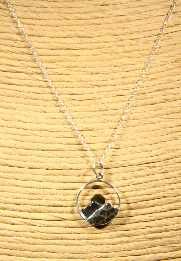 Sunshine Mountain Necklace, $36 | Sterling Silver | Light Years Jewelry