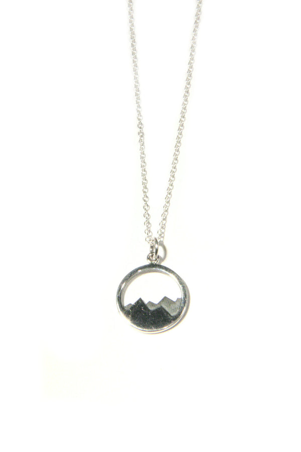 Mountain Range Necklace, $38 | Sterling Silver | Light Years Jewelry