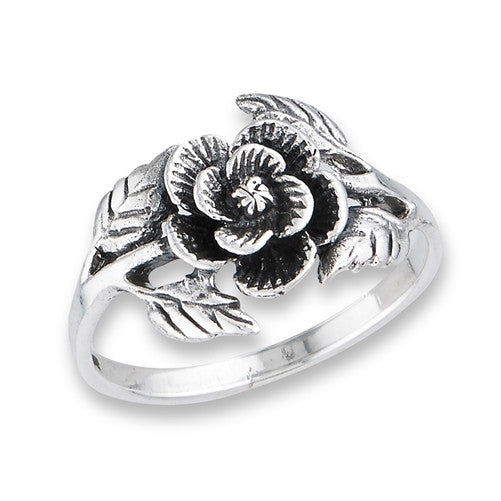 Rose Blossom Ring, $15 | Sterling Silver | Light Years Jewelry
