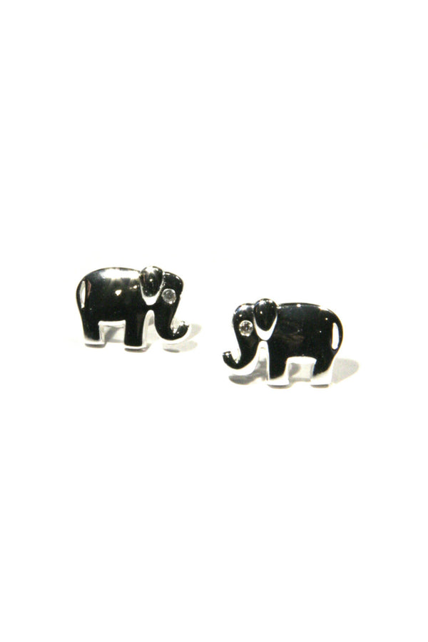 Large Elephant Posts | Sterling Silver Stud Earrings | Light Years