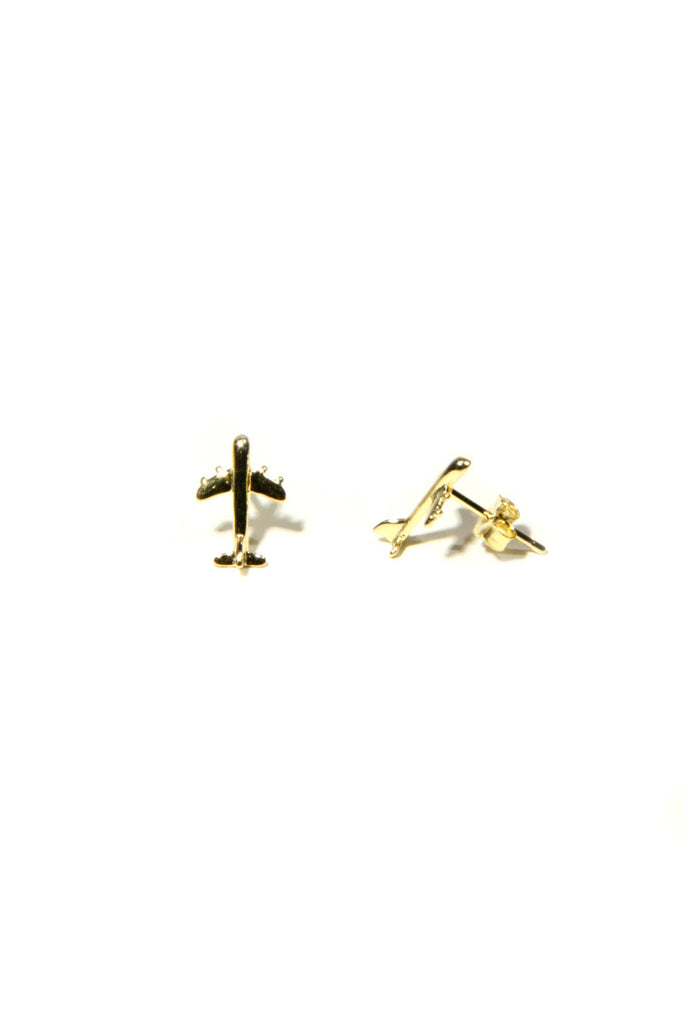 Airplane Posts, $12.75 | Sterling Silver or Vermeil | Light Years Jewelry