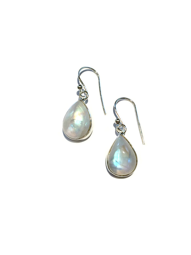 Moonstone Teardrop Dangles