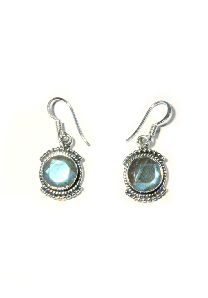 Detailed Stone Dangles, $24 | Labradorite | Light Years Jewelry